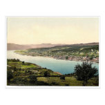 Orsova, Austro-Hungary magnificent Photochrom Postcard