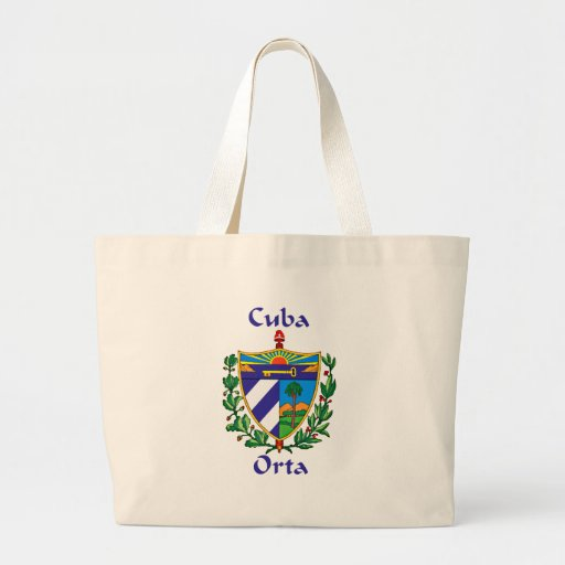 Orta Shield of Cuba Canvas Bags