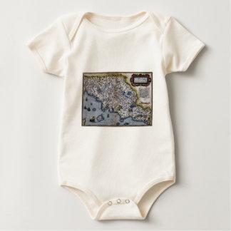 Ortelius' Thvsciae Baby Bodysuit