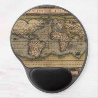 Ortelius World Map 1570 Gel Mouse Pad