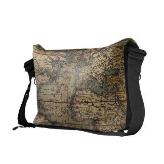 Ortelius World Map 1570 Messenger Bag