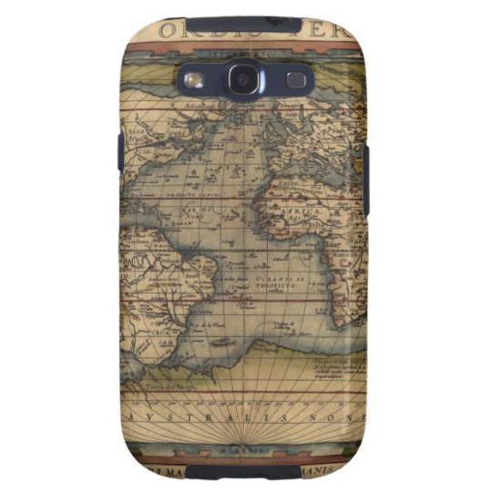 Ortelius World Map 1570 Samsung Galaxy S3 Case