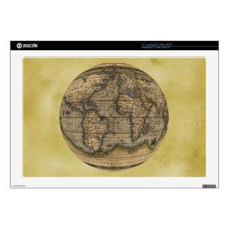 Ortelius World Map Laptop Decal