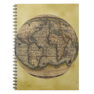 Ortelius world map journal