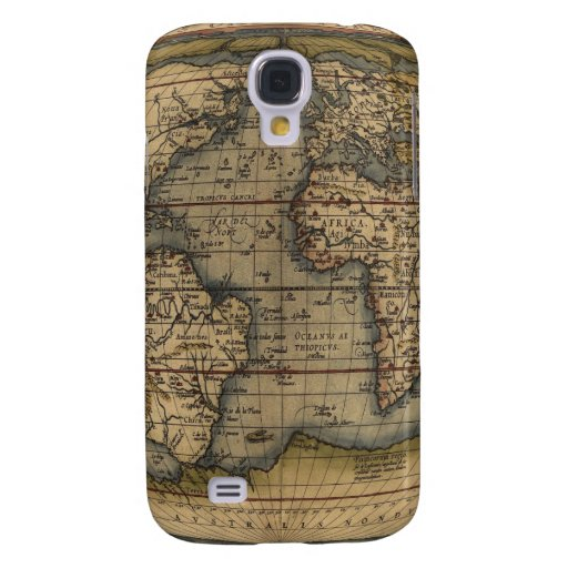 Ortelius World Map Samsung Galaxy S4 Cover