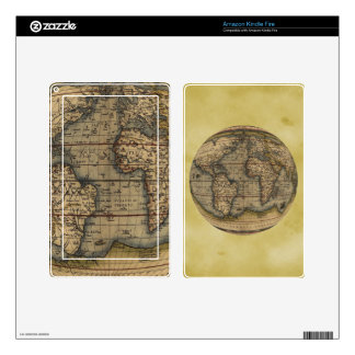 Ortelius World Map Skins For Kindle Fire