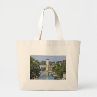 Orthez in France Large Tote Bag