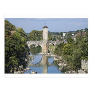 Orthez in France Postcard
