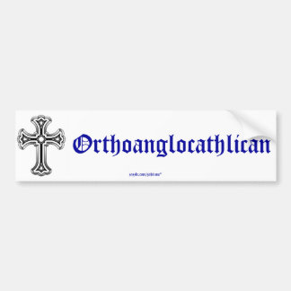Orthoanglocathilan Bumper Sticker