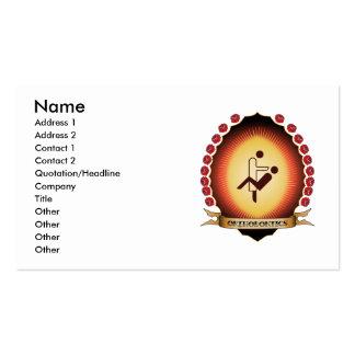 Orthodontics Mandorla Business Card Templates