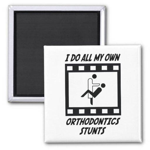Orthodontics Stunts Fridge Magnet
