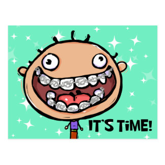 Orthodontist Appointment Reminder Post Card
