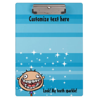 Orthodontist. Braces. Office Clip board Clipboards