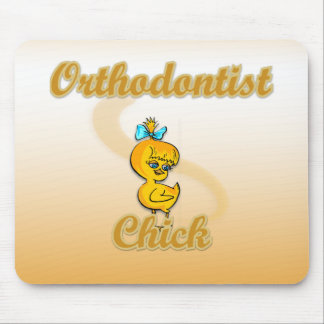 Orthodontist Chick Mousepads