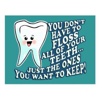Orthodontist del higienista del dentista postales
