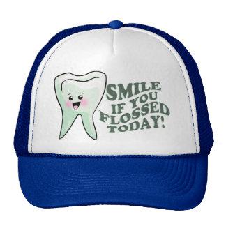 Orthodontist del higienista dental del dentista gorros bordados