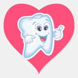 Orthodontist Orthodontics Orthodontry Heart Sticker