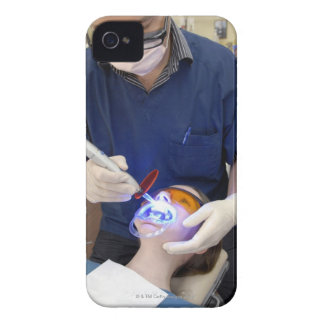 Orthodontist using UV light to set the concrete Case-Mate iPhone 4 Case