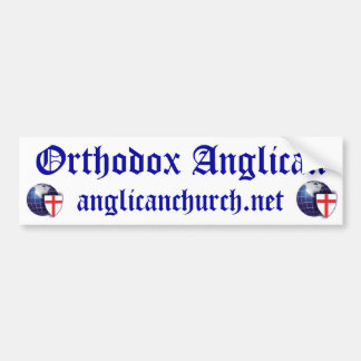 Orthodox Anglican Bumper Sticker