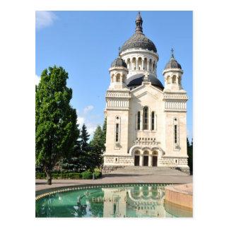 Orthodox cathedral in Cluj Napoca, Romania Postcard