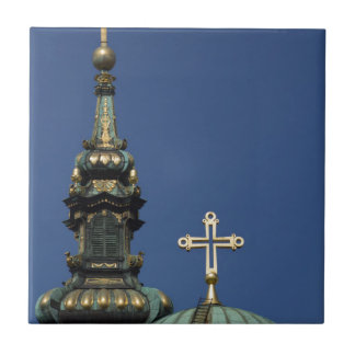 Orthodox Christian Church domes Ceramic Tile