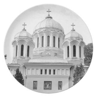 Orthodox church melamine plate