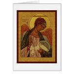 Orthodox Guardian Angel Greeting Card