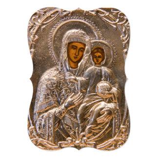 Orthodox icon card