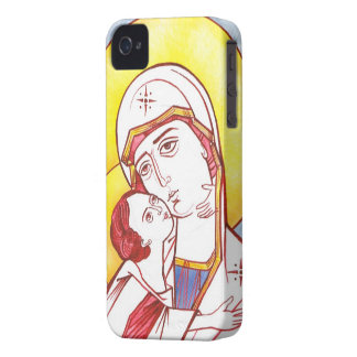 Orthodox Icon of the Virgin with Child Phone case iPhone 4 Cover