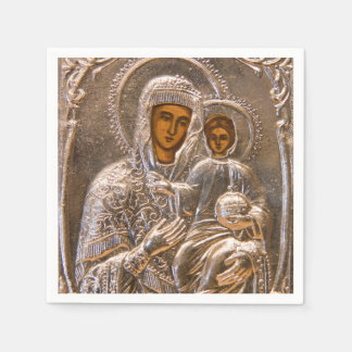 Orthodox icon paper napkins