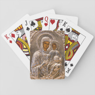 Orthodox icon playing cards