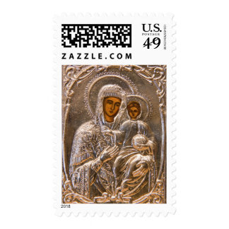 Orthodox icon postage stamp