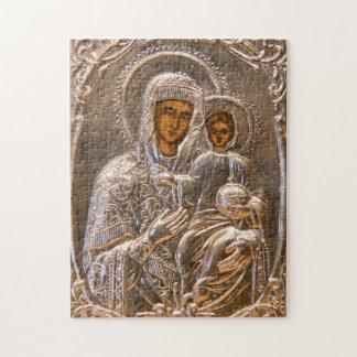 Orthodox icon puzzle