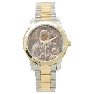 Orthodox icon wrist watch