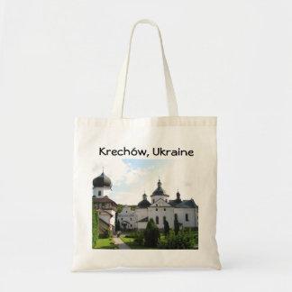 Orthodox Monastery in Krechow, Ukraine Tote Bag