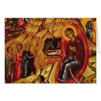 Orthodox Nativity Cards