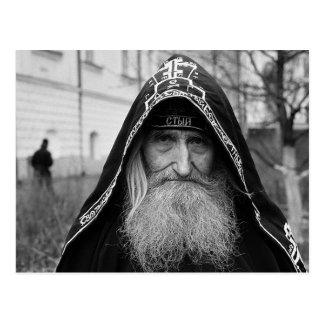 Orthodox Schema Monk Postcard