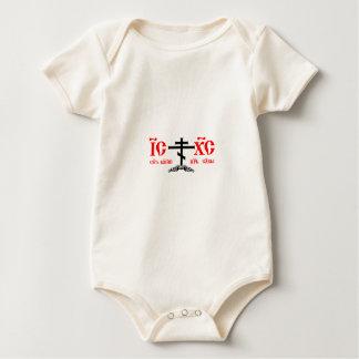 orthodoxia baby bodysuit