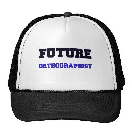 Orthographist futuro gorras de camionero