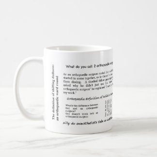 Orthopaedic jokes mug
