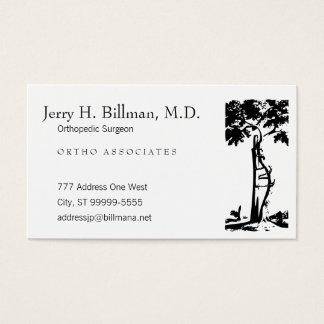 Orthopedic Crooked Tree Business Card