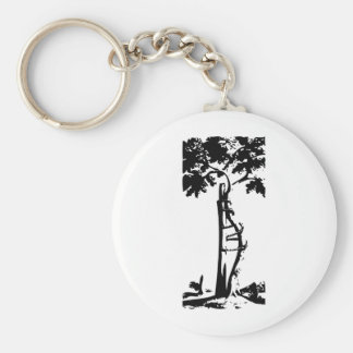 Orthopedic Crooked Tree Keychain