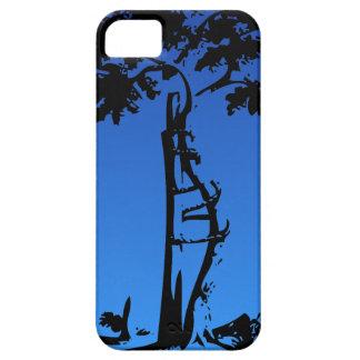 Orthopedic Crooked Tree on Lighter Gradient iPhone 5 Case