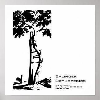Orthopedic Crooked Tree Posters