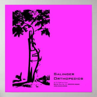Orthopedic Crooked Tree Poster