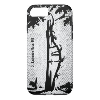 Orthopedic Crooked Tree Textured Looking iPhone 7 Case