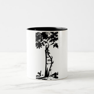 Orthopedic Crooked Tree Two-Tone Coffee Mug