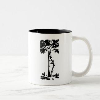 Orthopedic Crooked Tree Two-Tone Coffee Mug