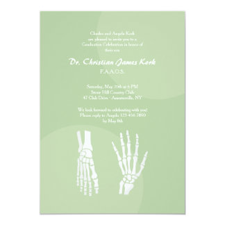 Orthopedic Doctor Graduation Invitation