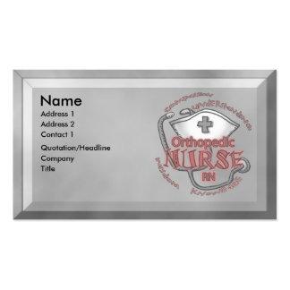 Orthopedic Nurse Business Card Templates